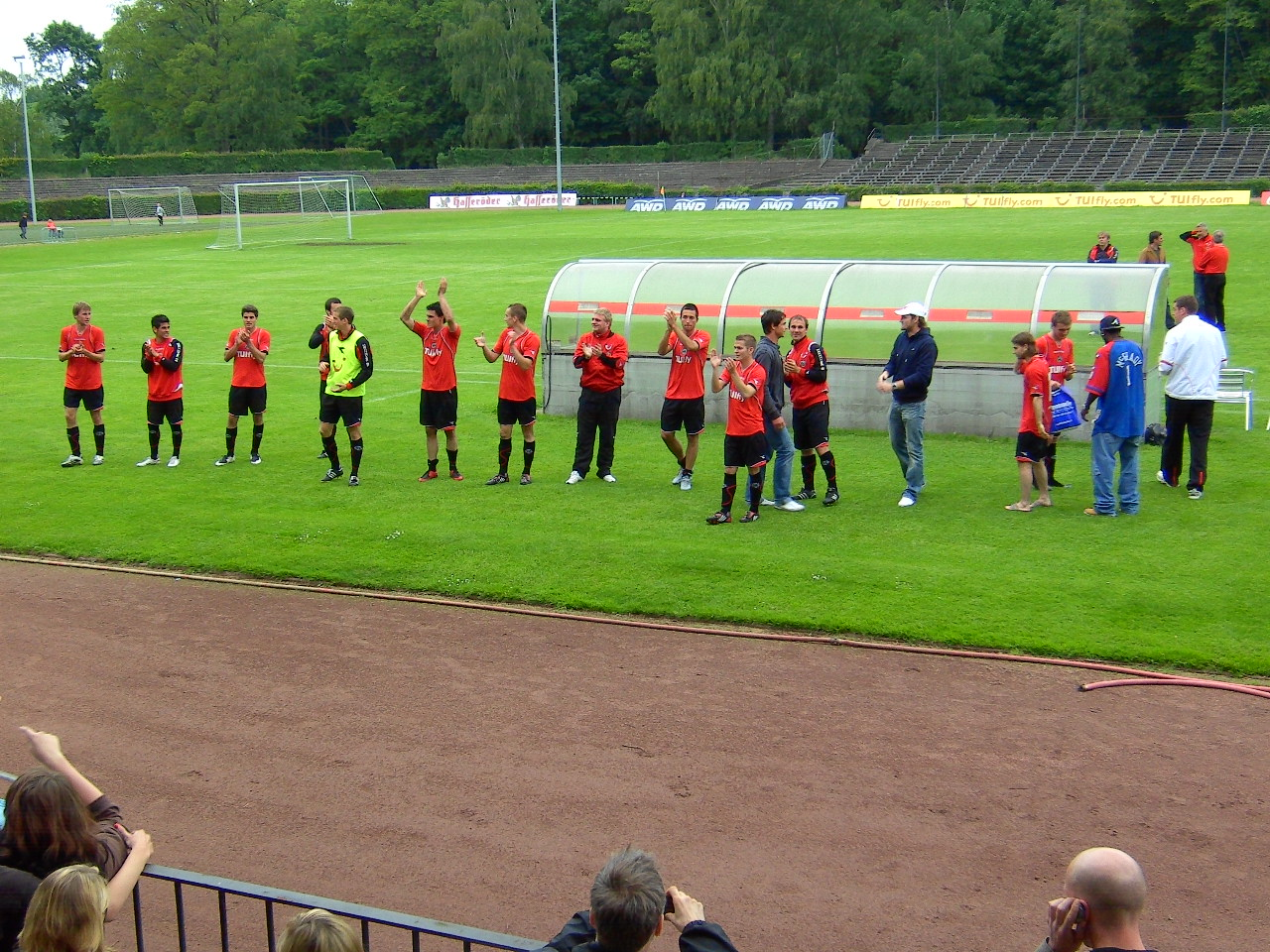 Bischofswerda Programm 2002//03 FC Stahl Riesa 98